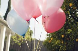 Angel Birthday Balloons