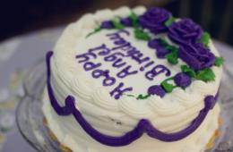 Happy Angel Birthday Cake